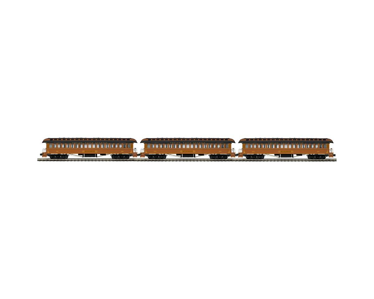 MTH Trains O 64' Wood Coach, NYC (3)