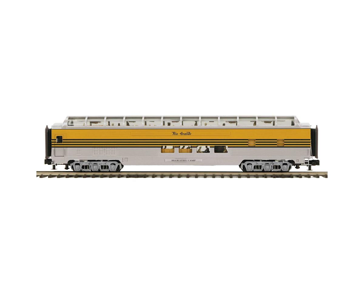 MTH Trains O 70' Streamline Smooth Full Vista Dome, D&RGW