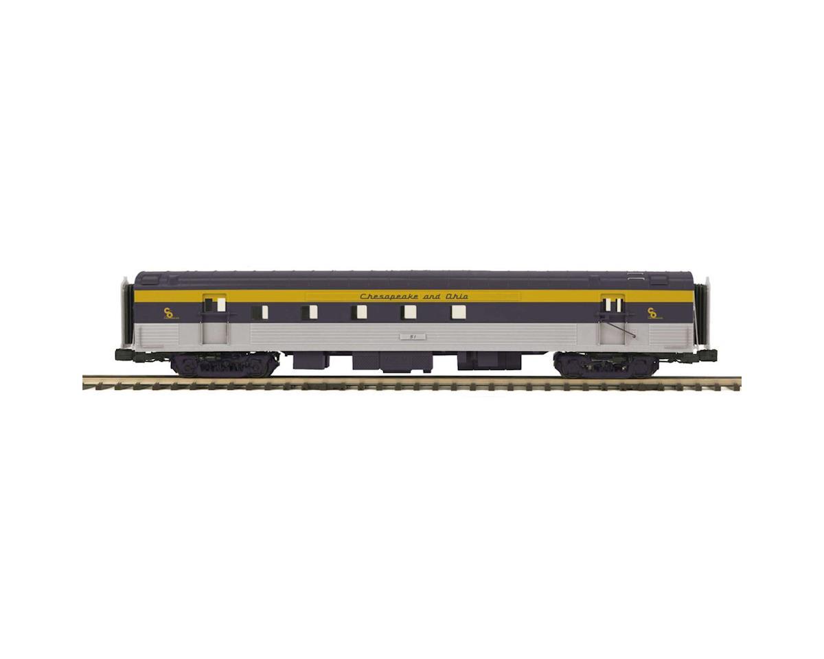 MTH Trains O 70' Streamline Smooth RPO, C&O #83