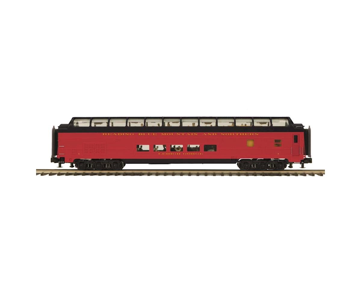 MTH Trains O 70' Streamline Smooth Full Vista Dome, RNRX #4