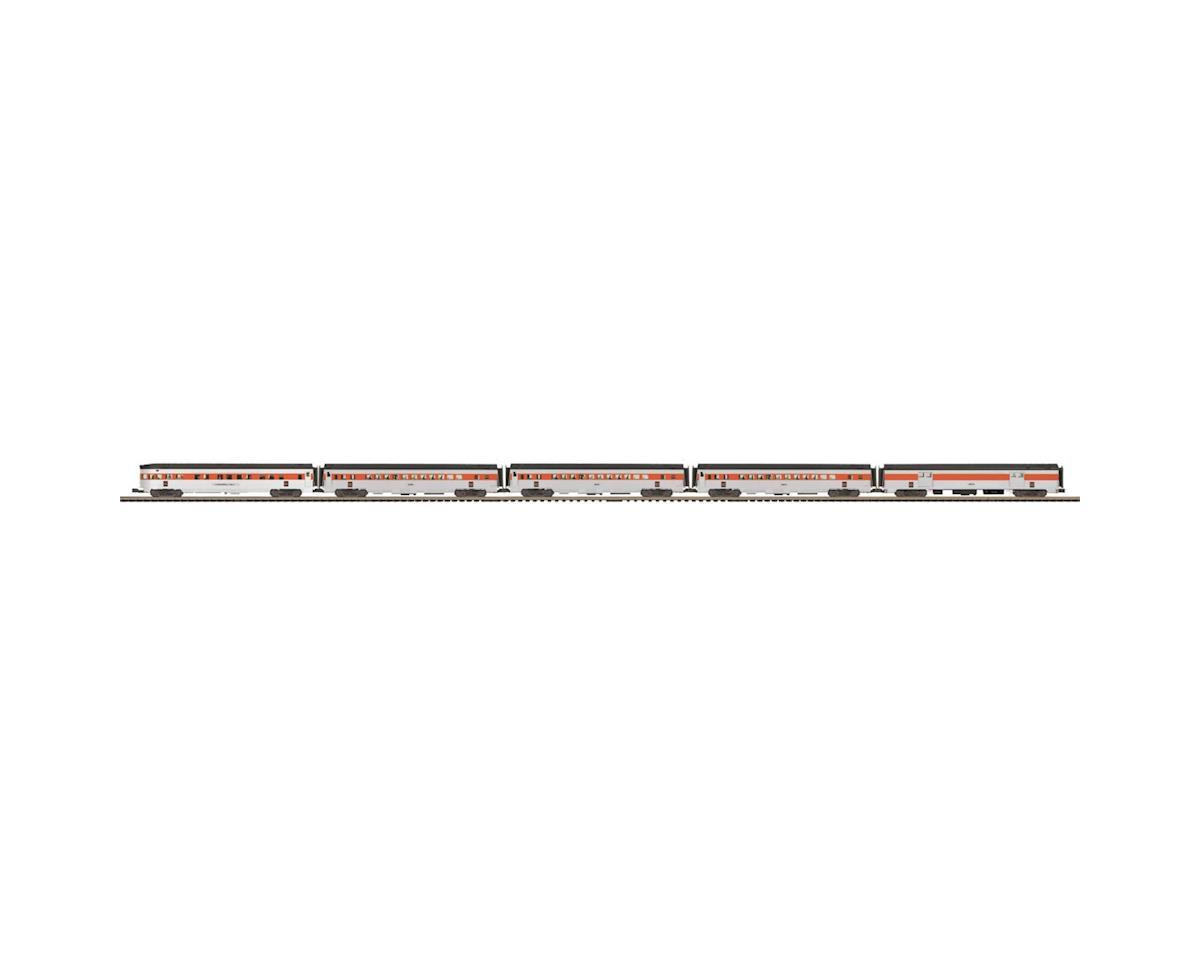 MTH Trains O 70' Streamline Ribbed Passenger, NH (5)