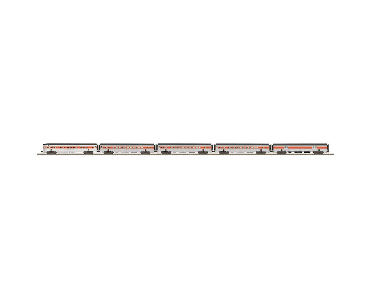 MTH Trains O 70' Streamline Ribbed Passenger, NH (5)