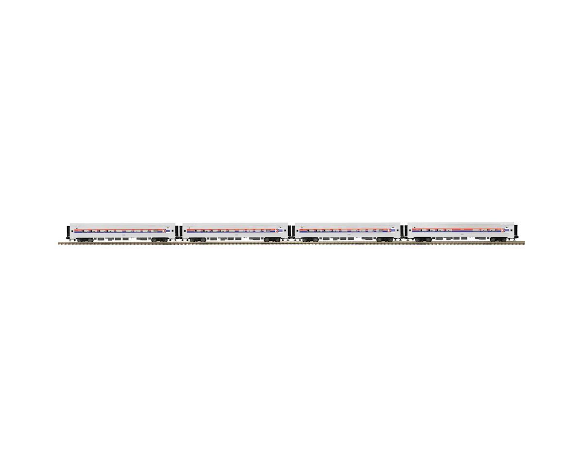 O Amfleet Passenger, Amtrak/Phase I (4) by MTH Trains