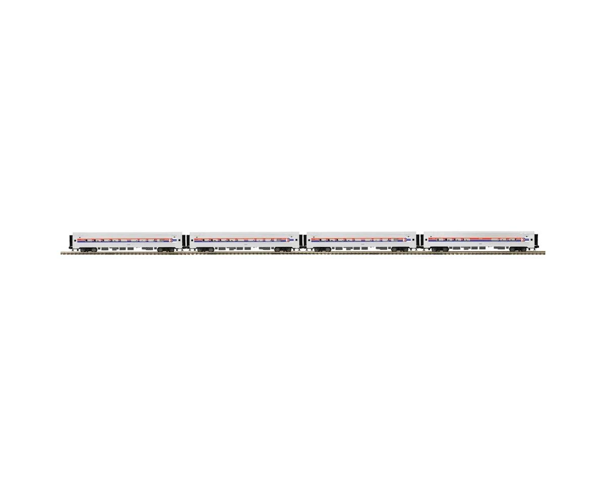 O Amfleet Passenger, Amtrak/Phase I (4) by MTH Trains