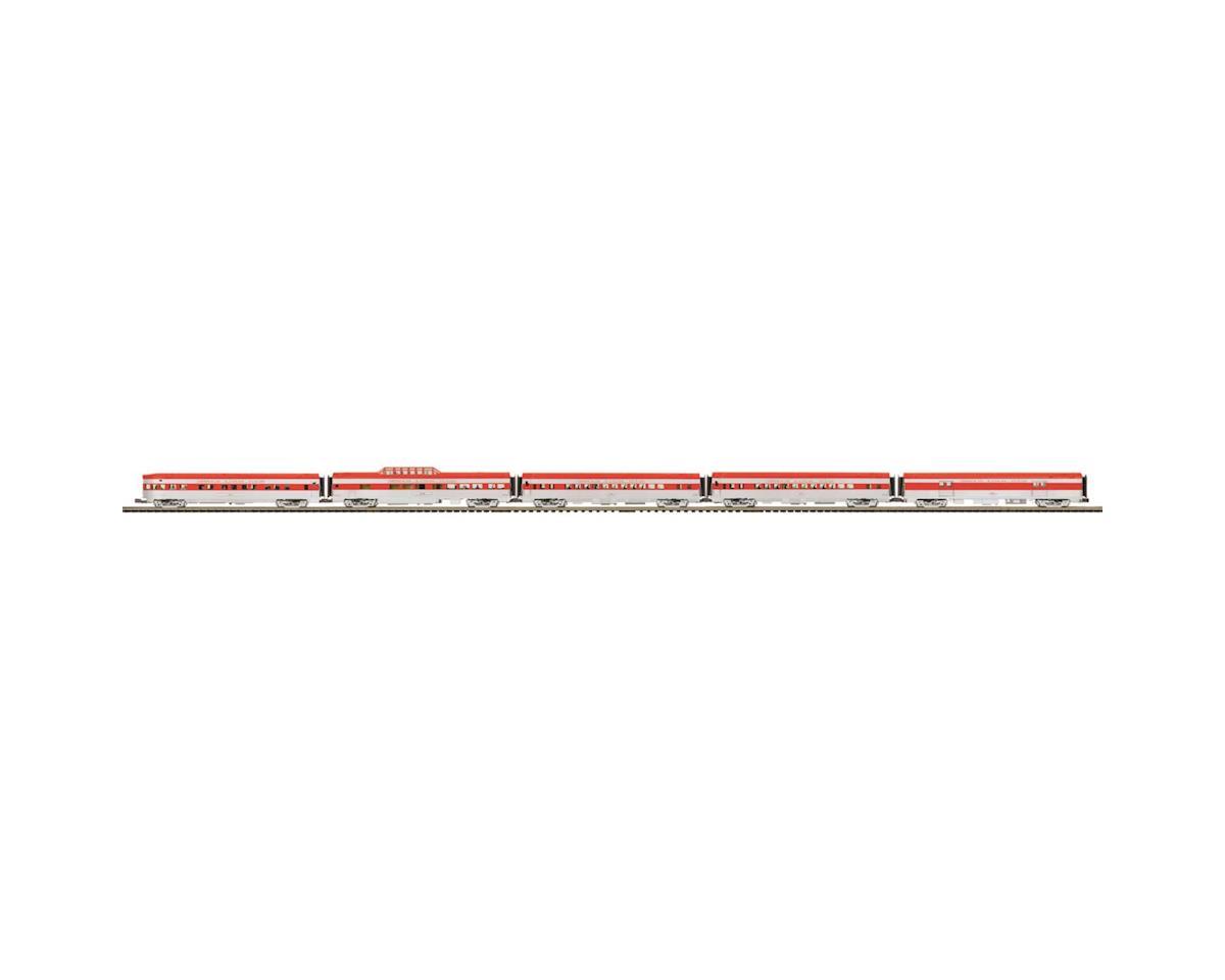 MTH Trains O 70' Streamline Ribbed Passenger, MKT (5)