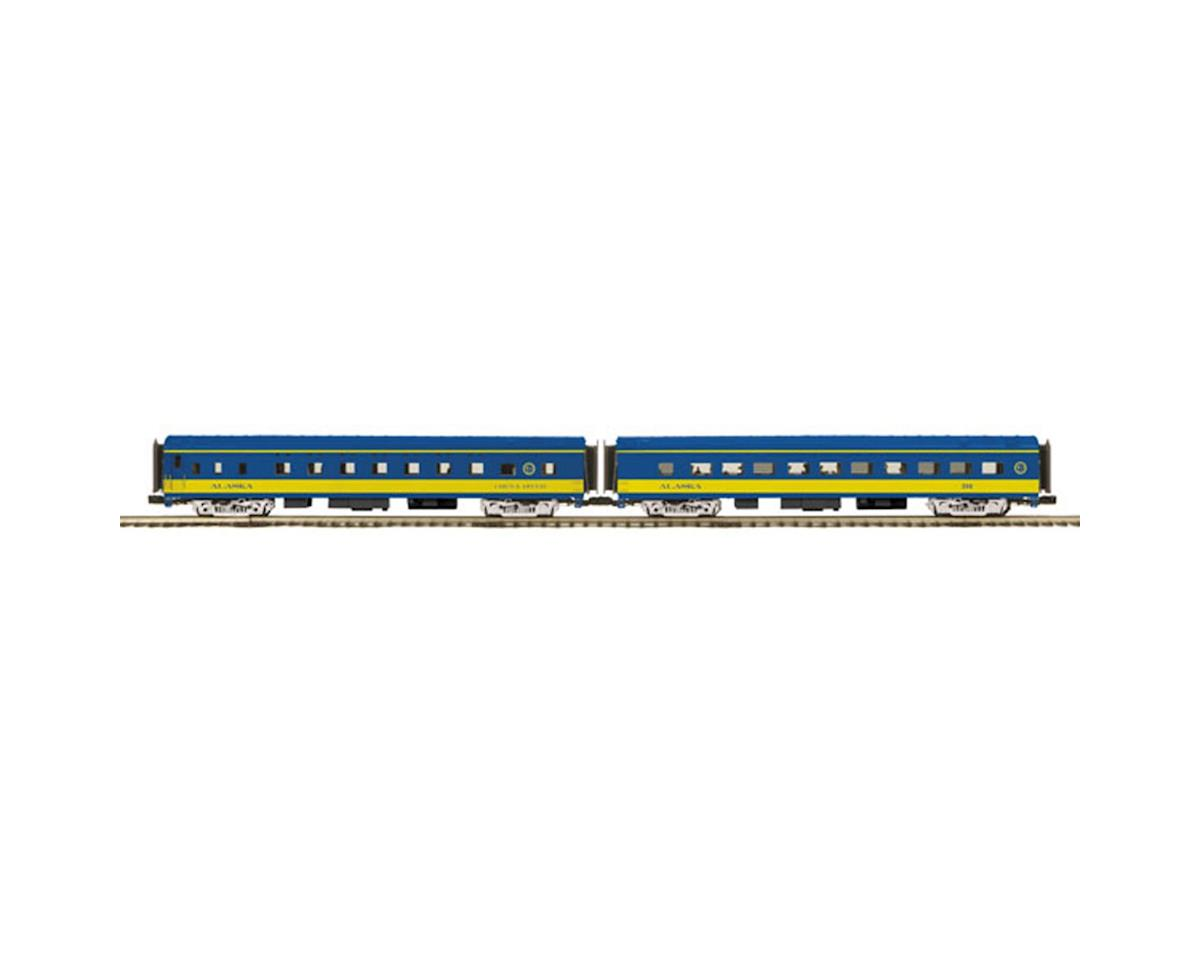 MTH Trains O 70' Smooth Sleeper/Diner, ARR