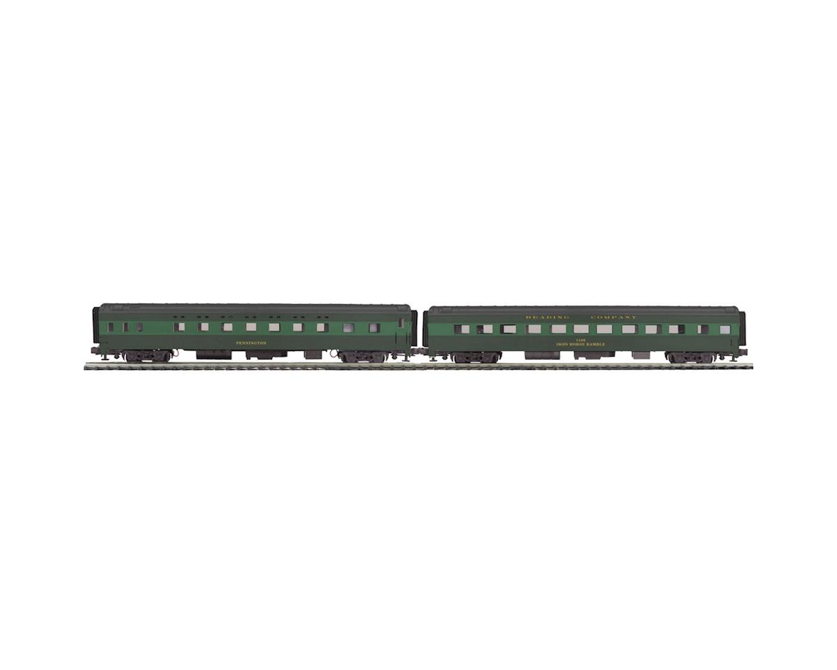 MTH Trains O 70' Streamline Smooth Sleeper/Diner, RDG