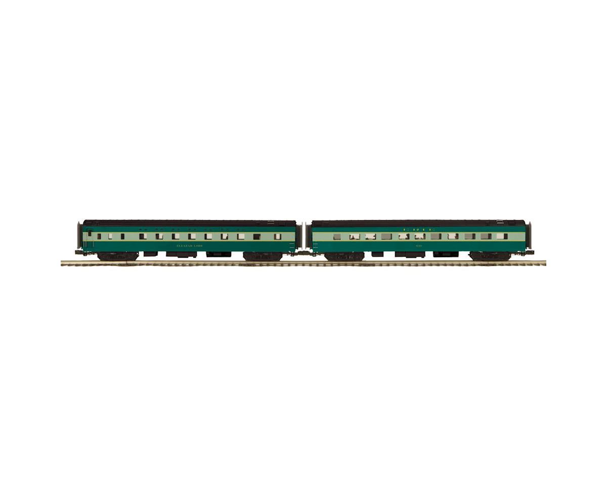 MTH Trains O 70' Streamline Smooth Sleeper/Diner, Erie