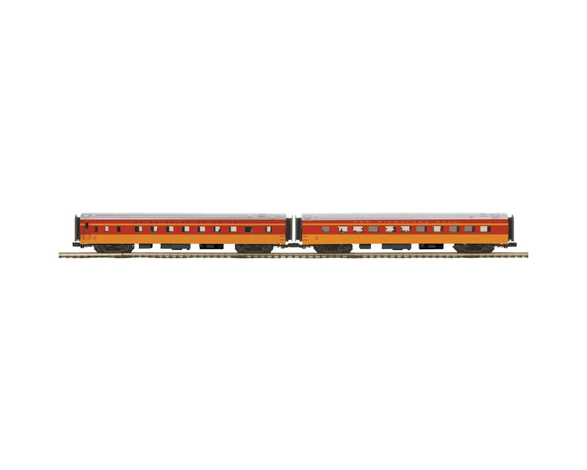 MTH Trains O 70' Streamline Smooth Sleeper/Diner, MILW