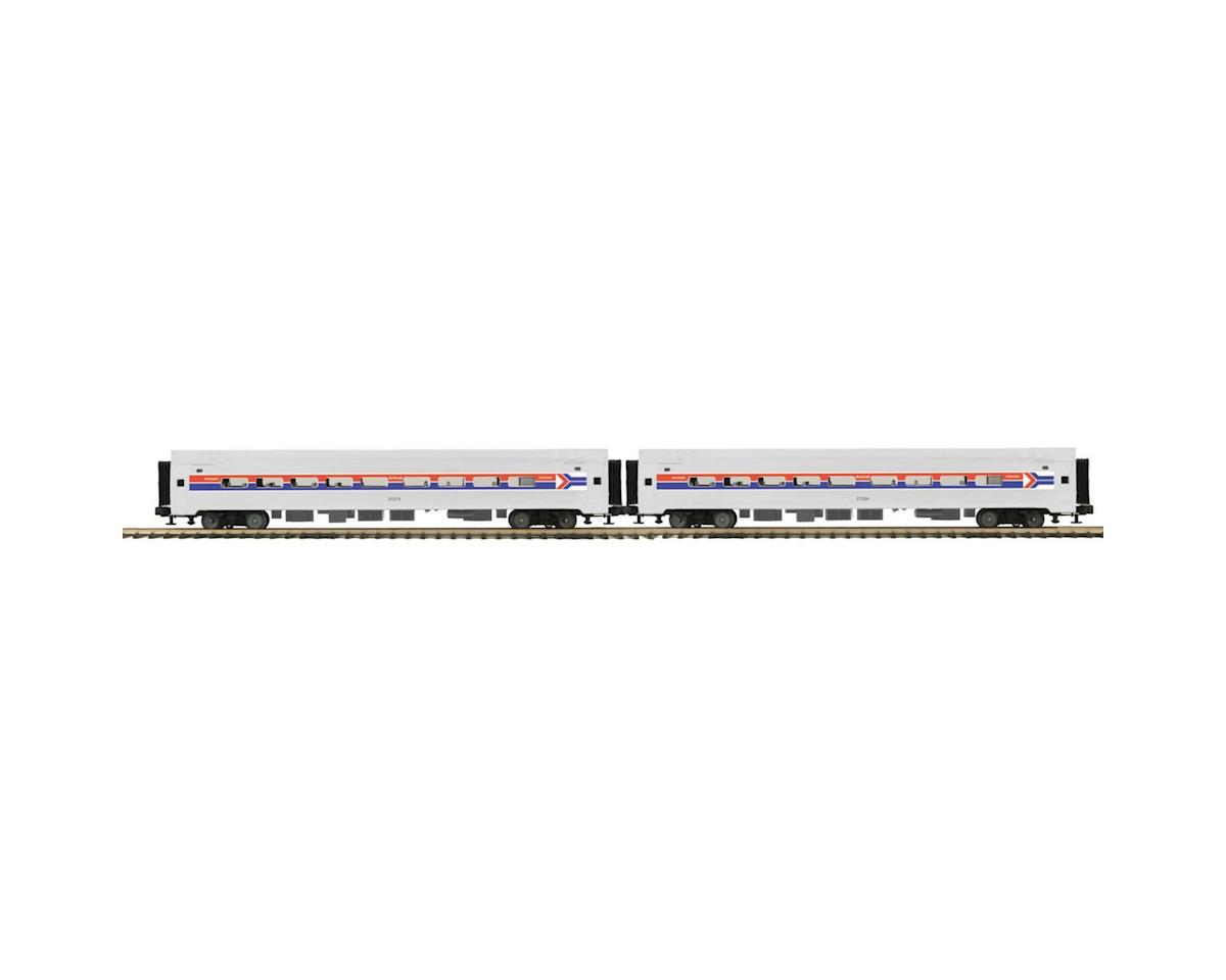 O Amfleet Passenger, Amtrak/Phase I (2) by MTH Trains
