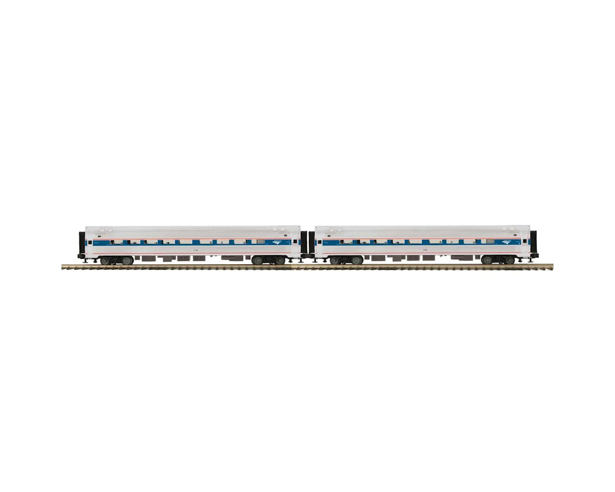 MTH Trains O Amfleet Passenger, Amtrak/Phase 4/6 (2)