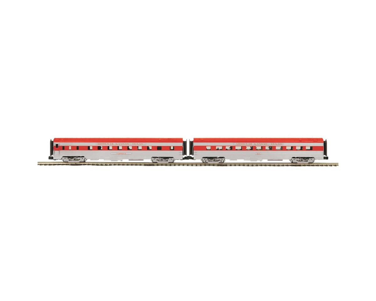 MTH Trains O 70' Streamline Ribbed Sleeper/Diner, MKT