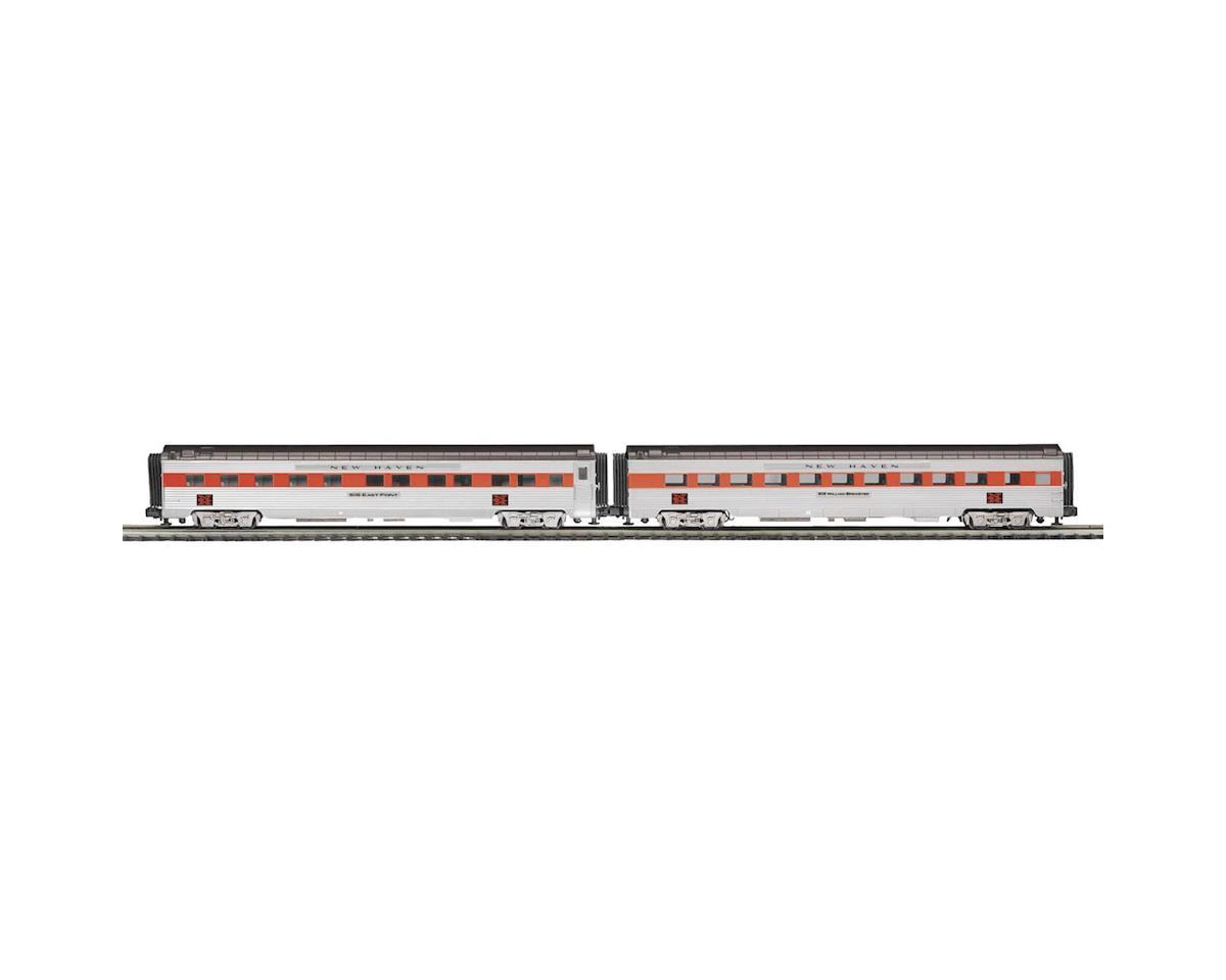 MTH Trains O 70' Streamline Ribbed Sleeper/Diner, NH