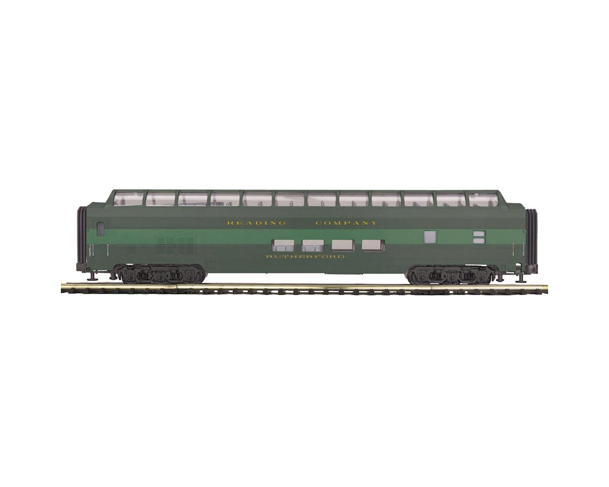 MTH Trains O 70' Streamline Smooth Full Vista Dome, RDG