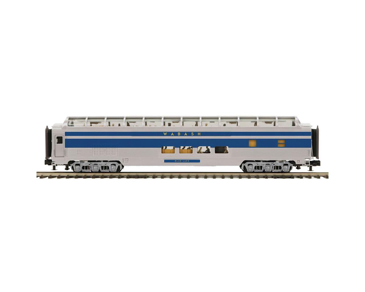 MTH Trains O 70' Streamline Ribbed Full Vista , WAB