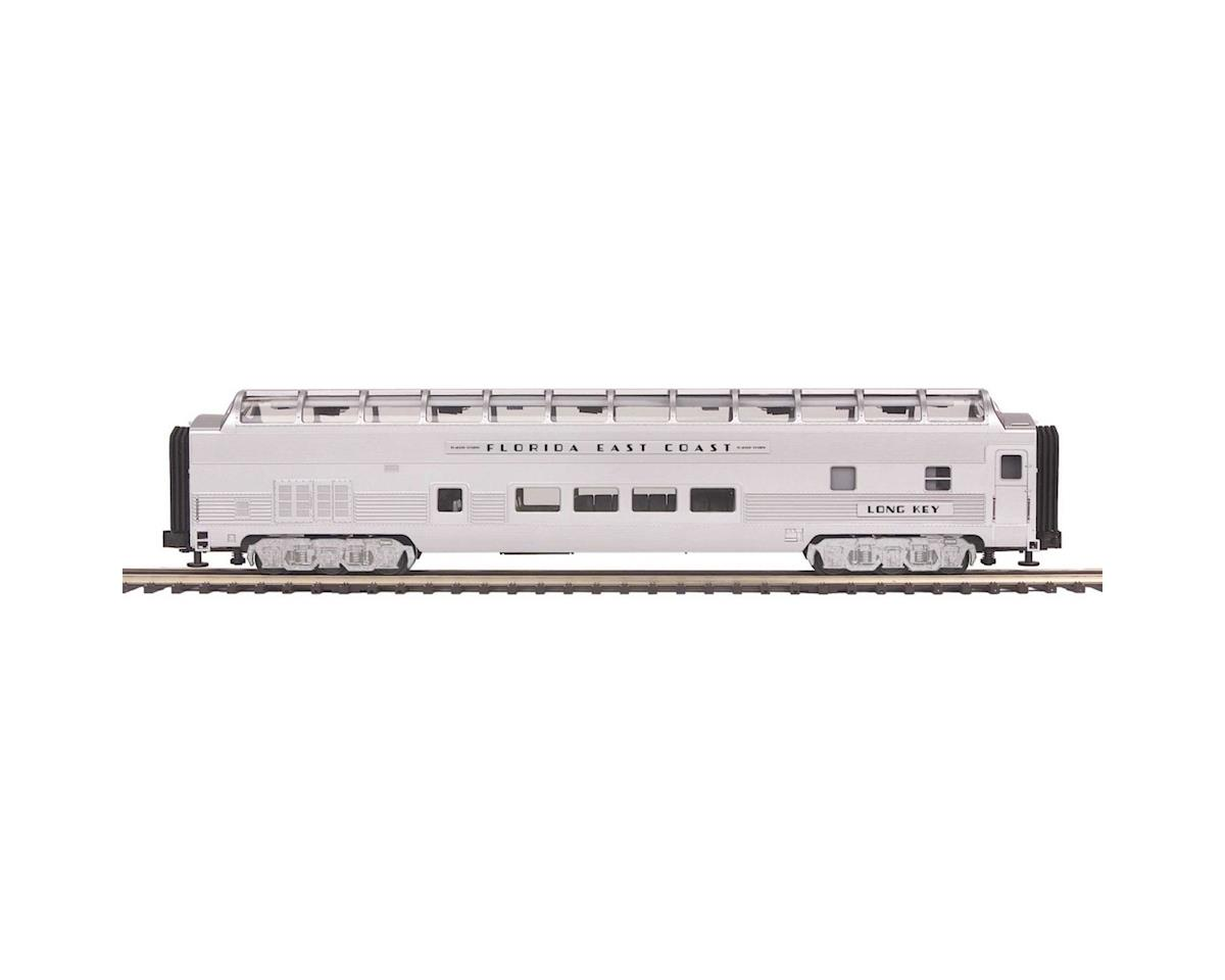 MTH Trains O 70' Streamline Ribbed Full Vista Dome, FEC