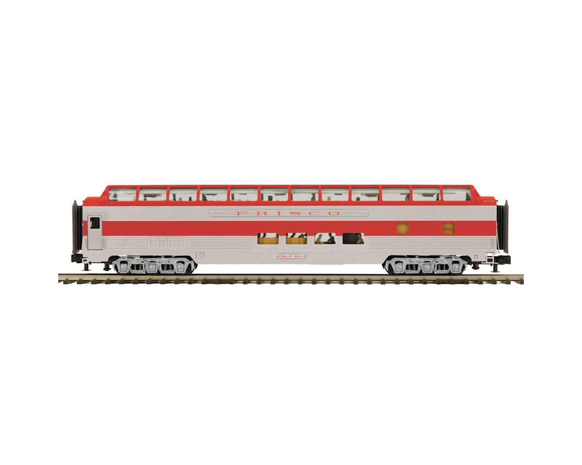 MTH Trains O 70' Streamline Ribbed Full Vista Dome, Frisco