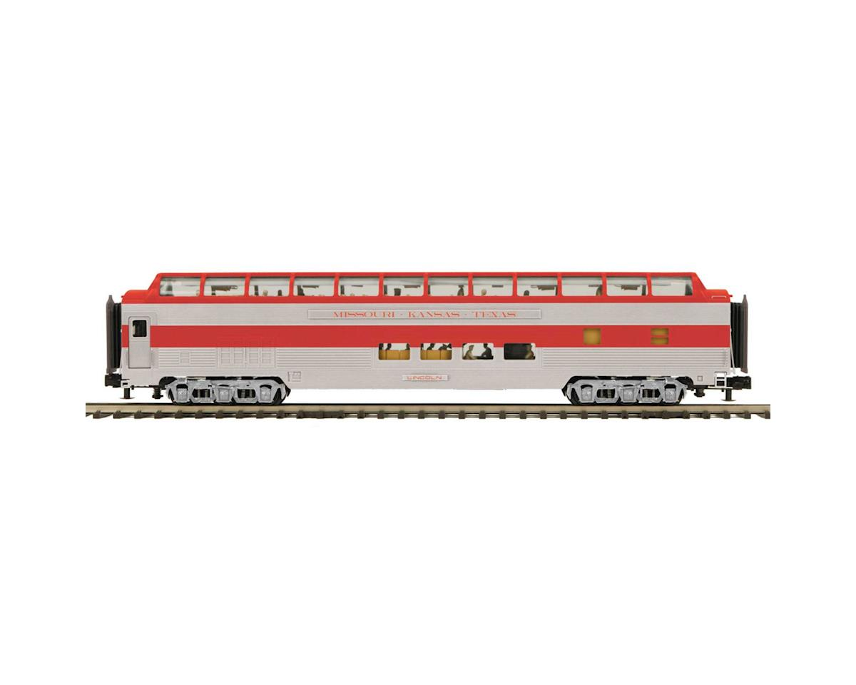 O 70' Streamline Ribbed Full Vista Dome, MKT by MTH Trains