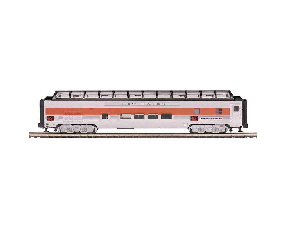 MTH Trains O 70' Streamline Ribbed Full Vista Dome, NH