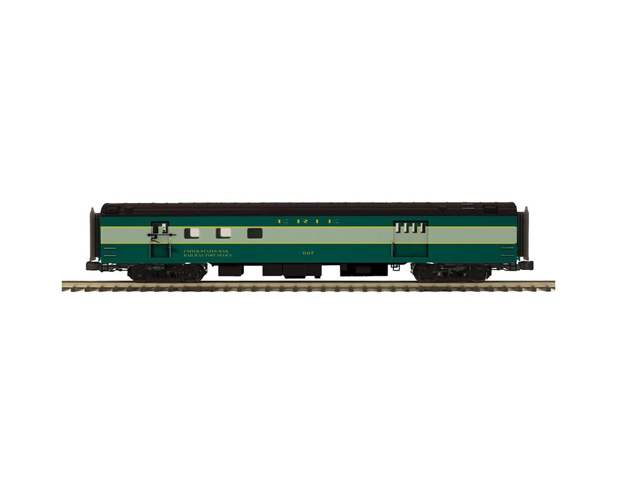 MTH Trains O 70' Streamline Smooth RPO, Erie
