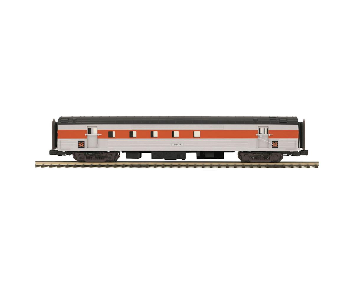 MTH Trains O 70' Streamline Ribbed RPO, NH