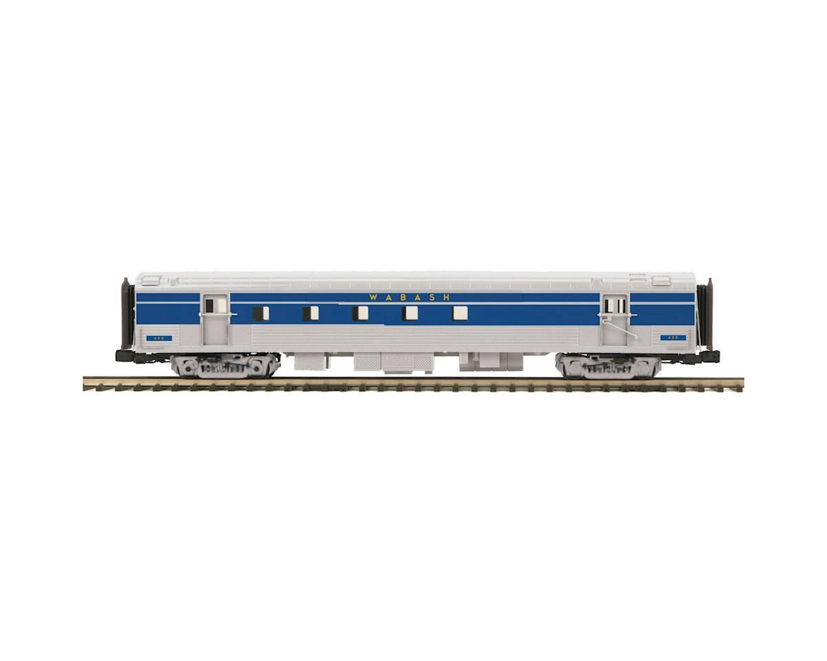 MTH Trains O 70' Streamline Ribbed RPO, WAB