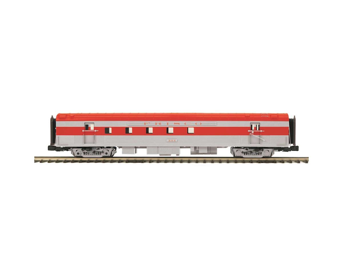 MTH Trains O 70' Streamline Ribbed RPO, Frisco
