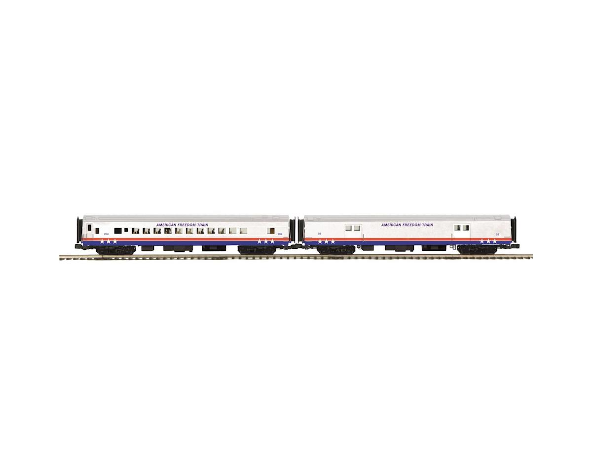 MTH Trains O 70' Smooth Baggage/Coach, American Freedom