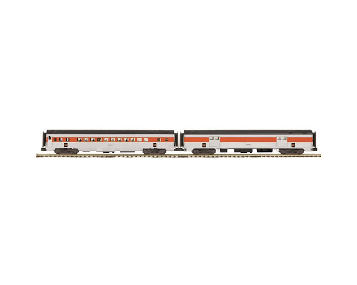 MTH Trains O 70' Ribbed Baggage/Coach, NH