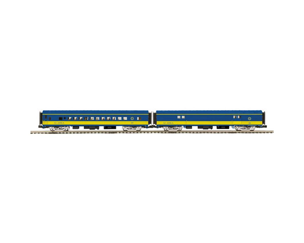 MTH Trains O 70' Smooth Baggage/Coach, ARR
