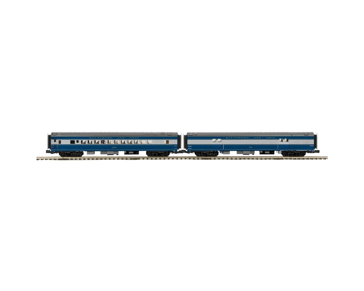 MTH Trains O 70' Streamline Smooth Baggage/Coach, B&O