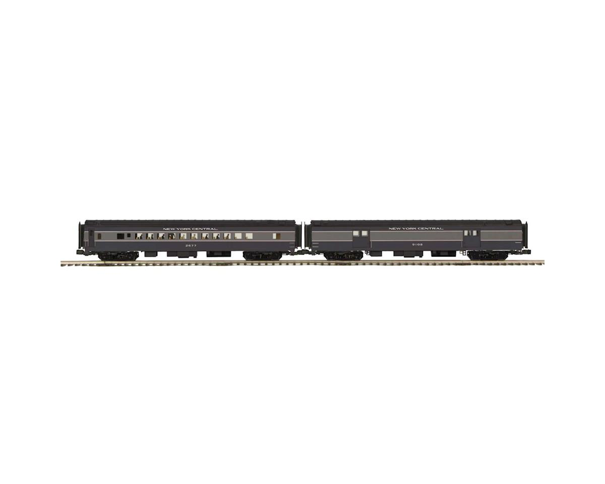 MTH Trains O 70' Streamline Smooth  Baggage/Coach, NYC