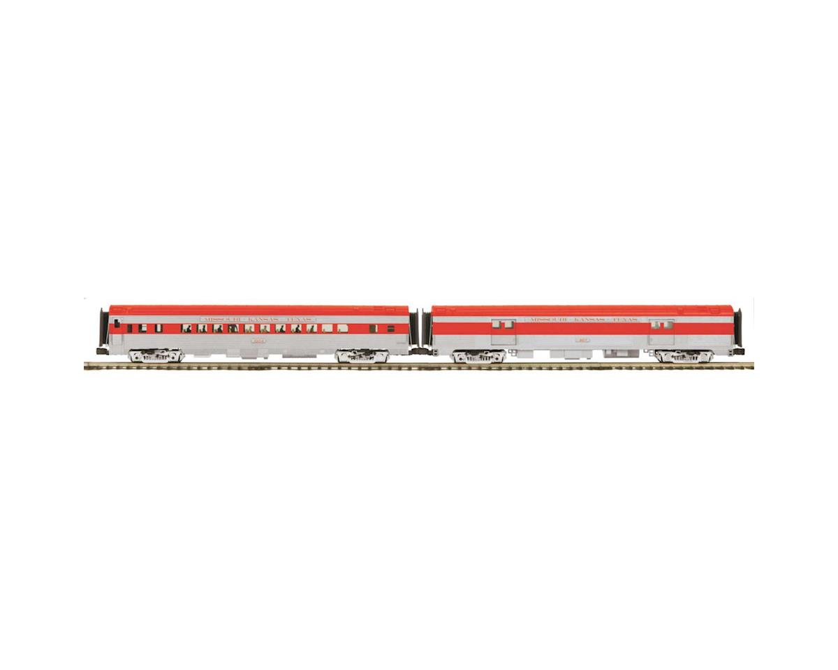 MTH Trains O 70' Streamline Ribbed Baggage/Coach, MKT