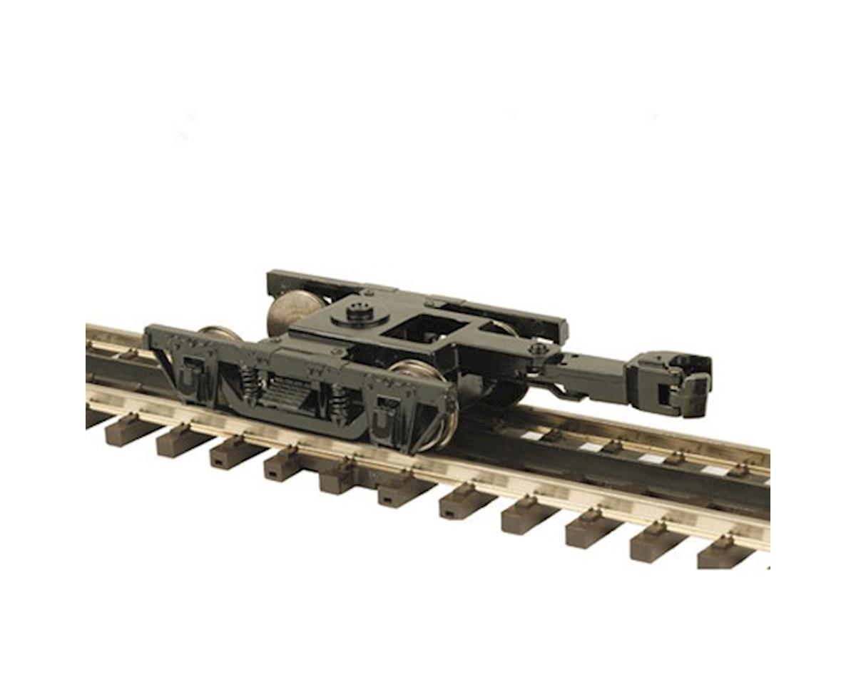 O 64' Wood Passenger Trucks (2) (2R) by MTH Trains
