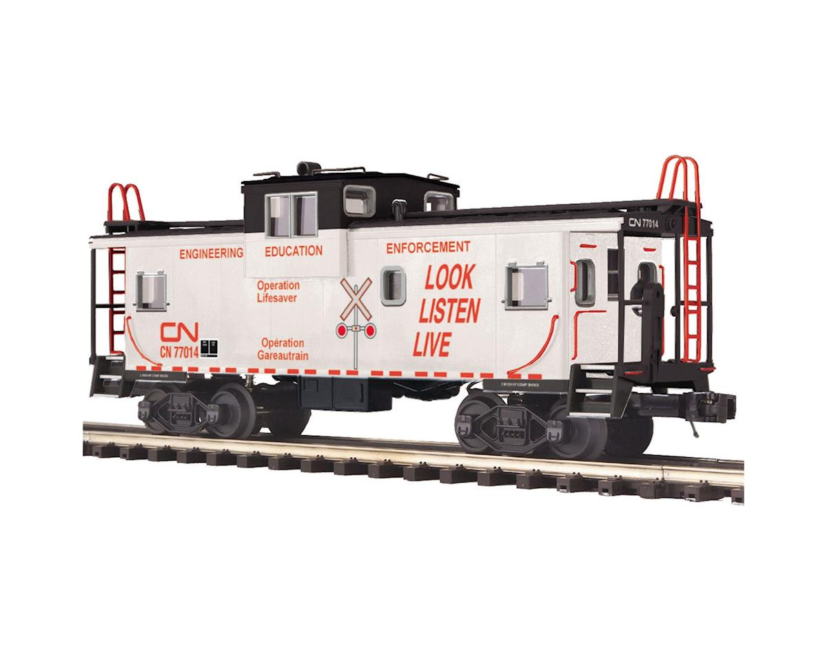 MTH Trains O Extended Vision Caboose, CN