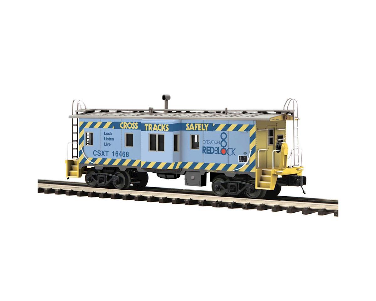 MTH Trains O Bay Window Caboose, CSX