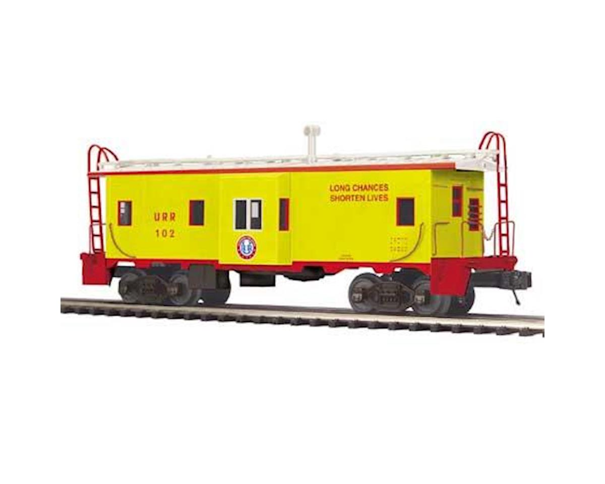 MTH Trains O Bay Window Caboose, URR #102