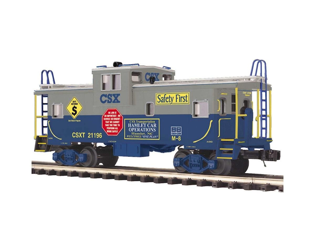 MTH Trains O Extended Vision Caboose, CSX #21196