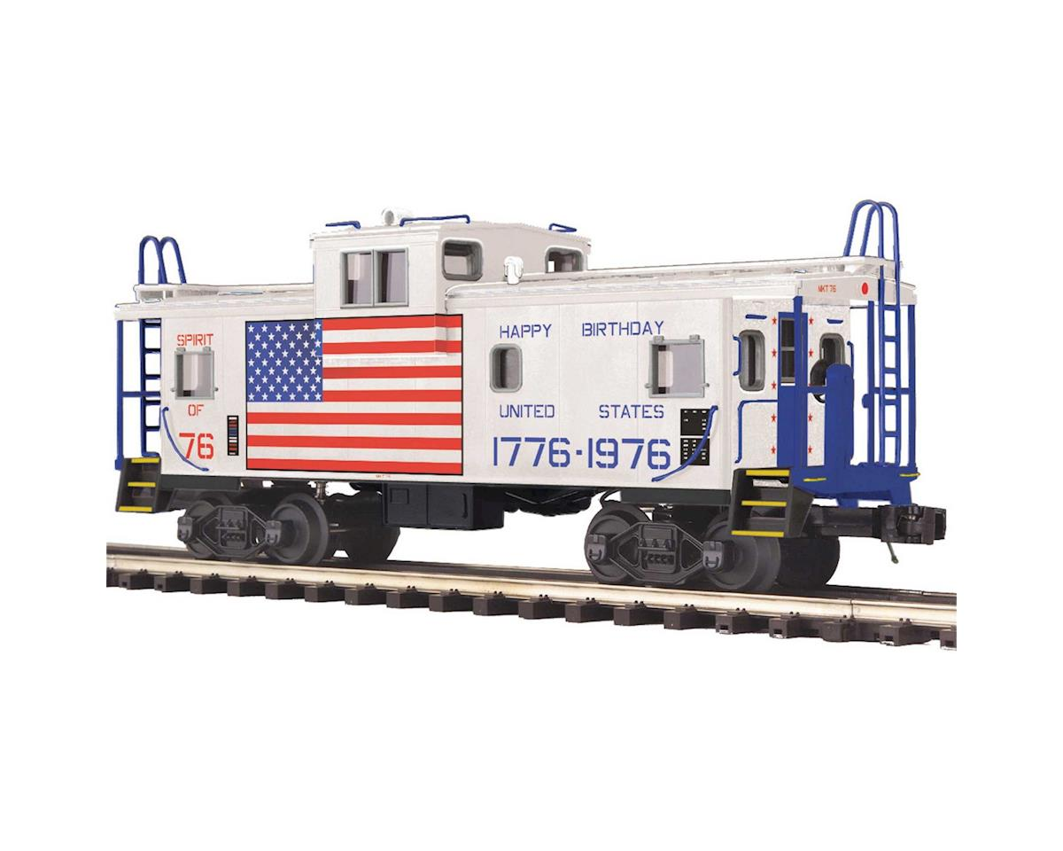 MTH Trains O Extended Vision Caboose, MKT #76