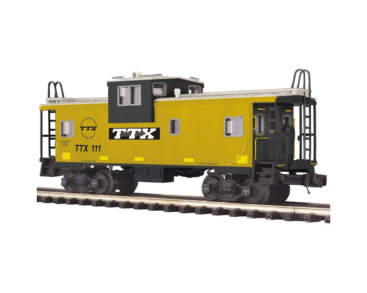 O Extended Vision Caboose, TTX #111 by MTH Trains