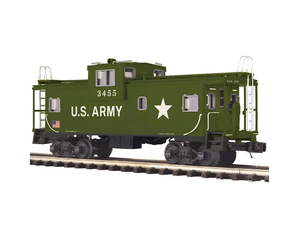 MTH Trains O Extended Vision Caboose, USARM #3455