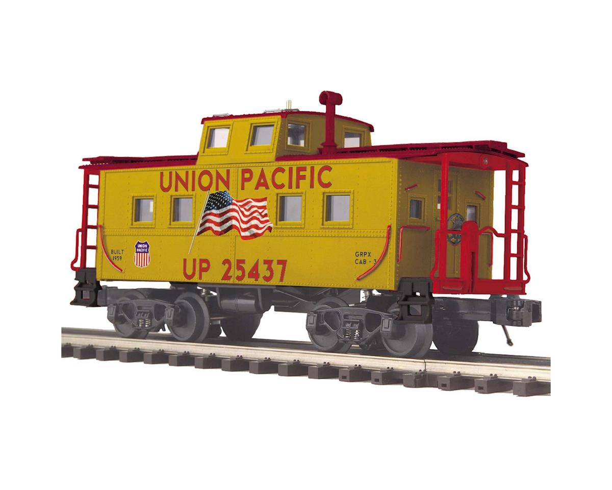 MTH Trains O Center Cupola Steel Caboose, UP #25437