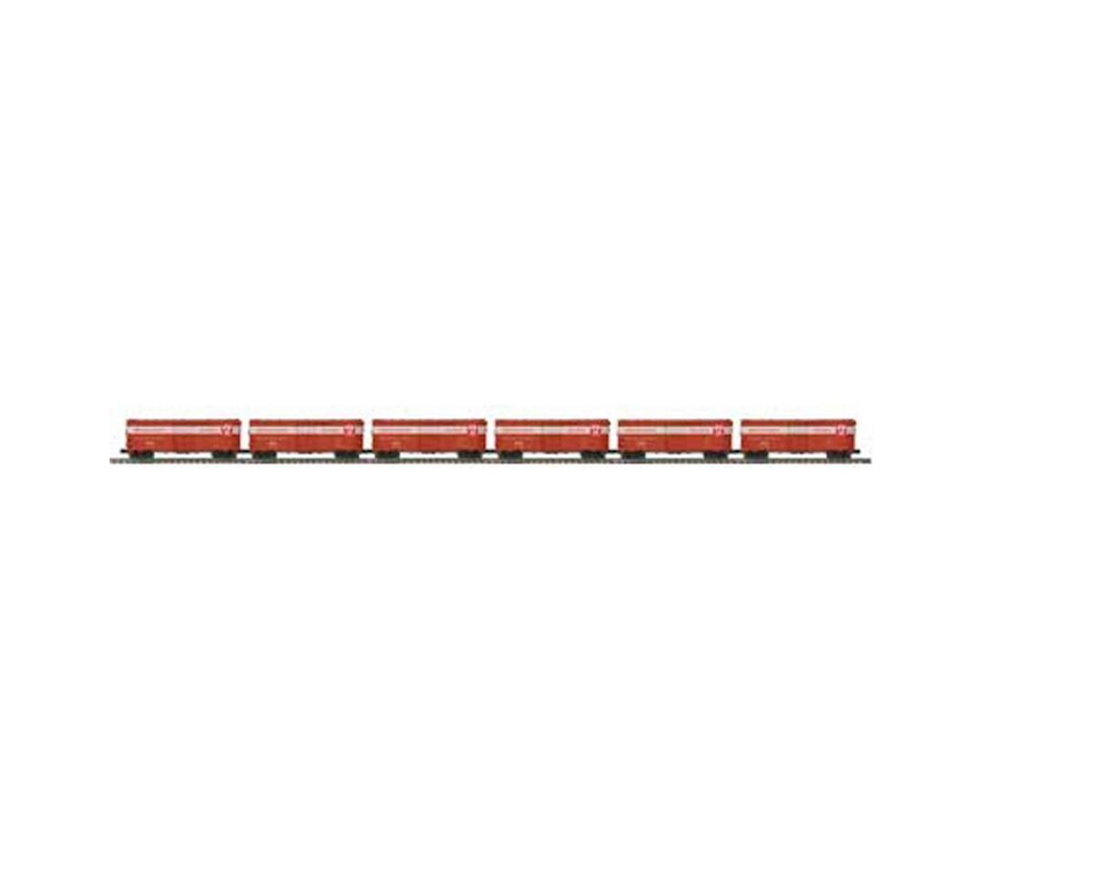 MTH Trains O 40' AAR Box, PRR #1 (6)
