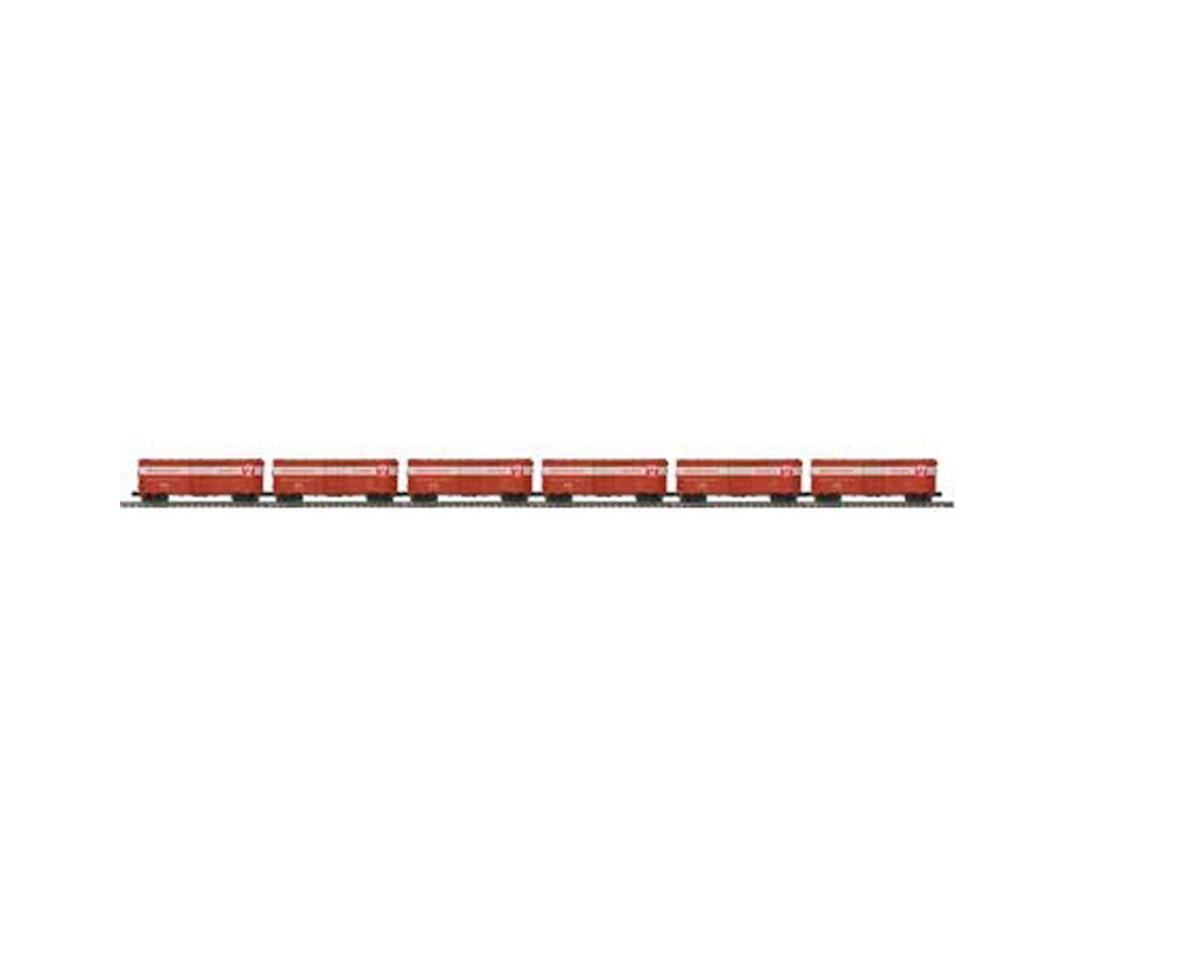 MTH Trains O 40' AAR Box, PRR #2 (6)