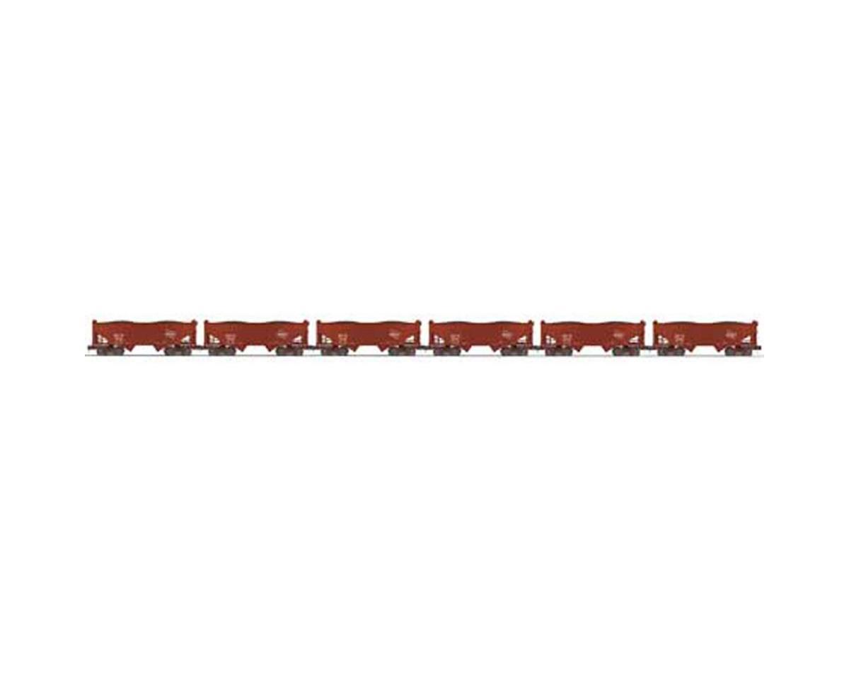 MTH Trains O 2-Bay Offset Hopper, MILW #2 (6)