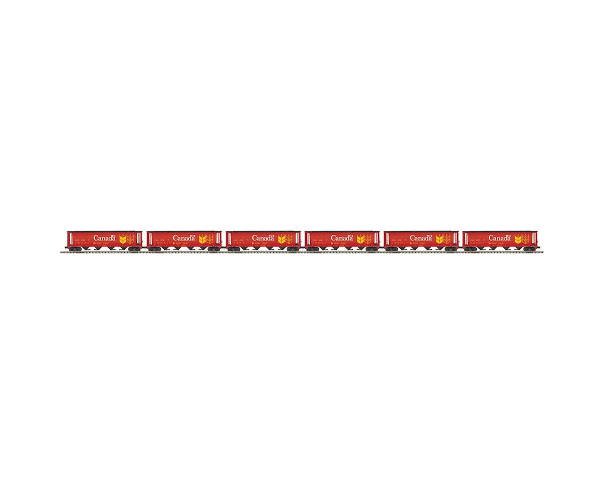 MTH Trains O 100 Ton Hopper, CN #110752 (6)