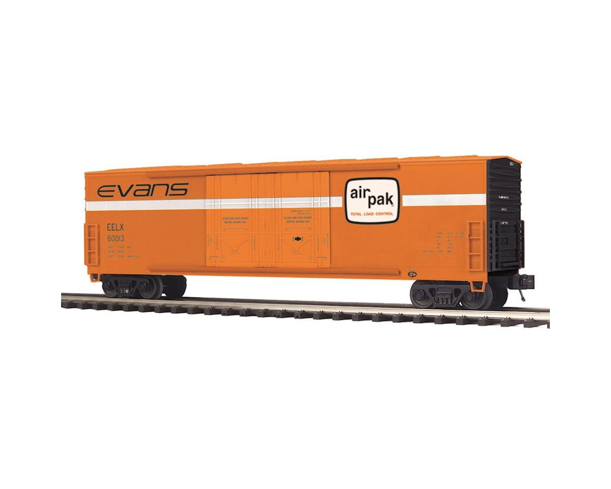 MTH Trains O 50' Double Door Plugged Box, Evan