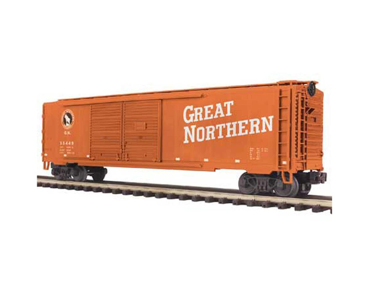 MTH Trains O 50' Double Door Box, GN