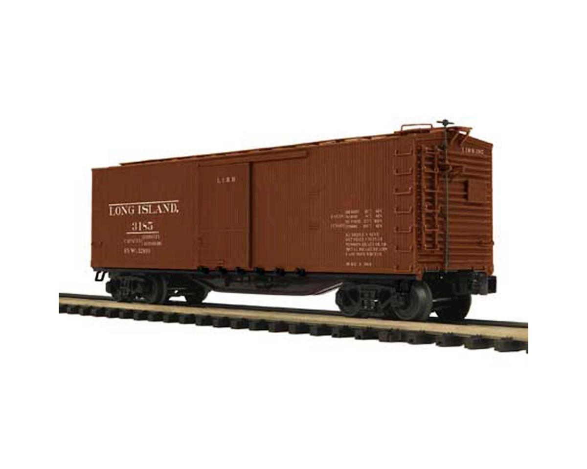 MTH Trains O 40' Double Sheathed Box, LIRR