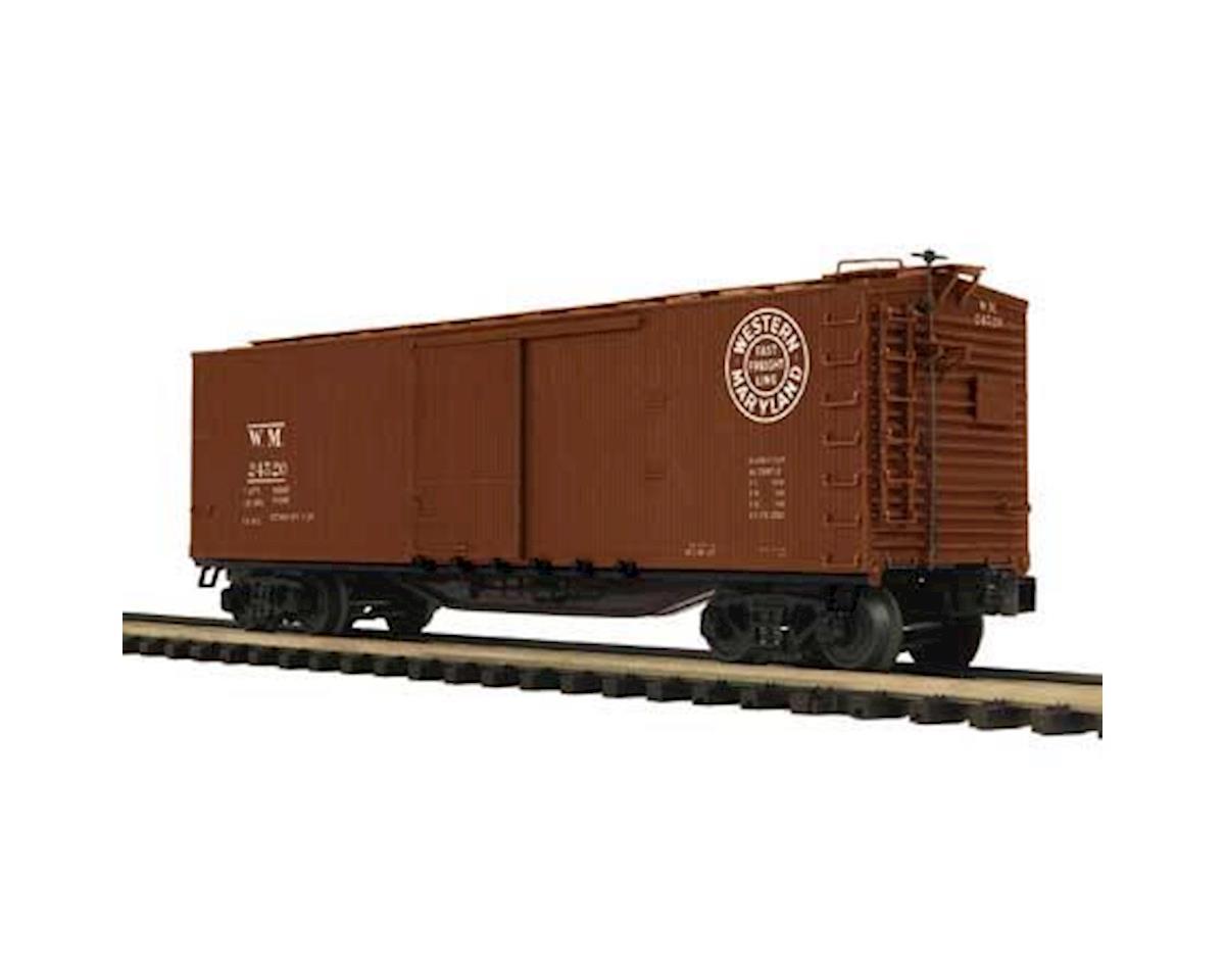 MTH Trains O 40' Double Sheathed Box, WM